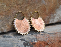 Copper and Brass Earrings