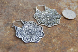 Flower Steel Earrings