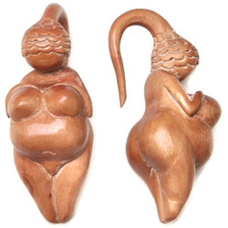 Saba Fertility Goddess Earrings