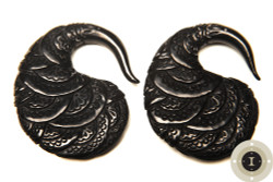 Horn Paisley Earrings