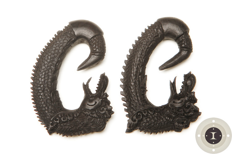 Ebony Wood Dragons