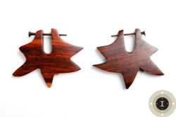 Wooden Earrings with Posts