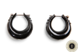 Horn Hoops Earrings