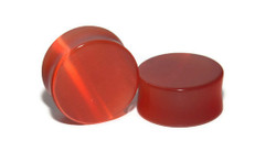 Blood Orange Cats Eye Plugs