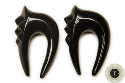 Horn Tribal Earrings