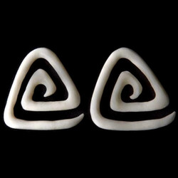 Bone Triangle Spiral