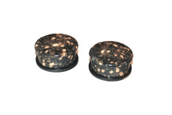 Leopardskin Jasper Single Flare Plugs
