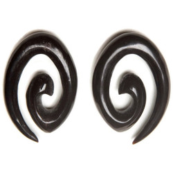Diamond Spirals Handmade from Water Buffalo Horn