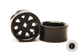 Ebony Wood Eyelets, Pin Wheel Design