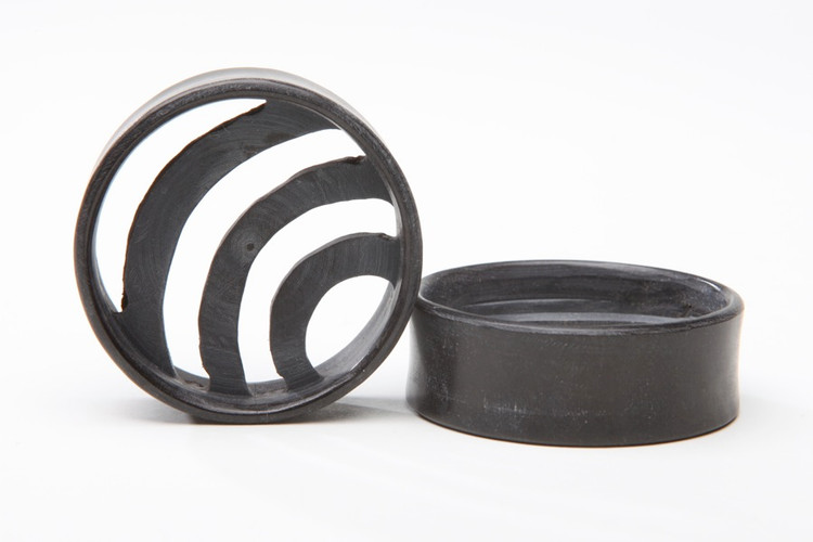 Ebony Wood Crescent Eyelets