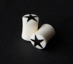 Water Buffalo Bone w/ Star Inlay