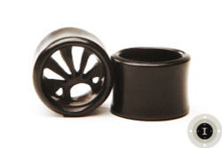 Ebony Wood Rising Sun Eyelets