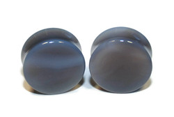 Gray Agate Stone Plugs