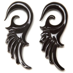 Horn Gauged Earrings