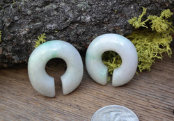 Beautiful Jadeite Donuts size 00g (9.5mm)