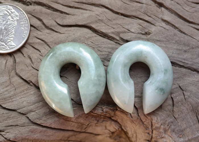 Jadeite Donuts One of a Kind 7/16""