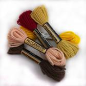 Paternayan Persian Wool Yarn 8 yards skein / 0.25 oz twists.