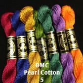 DMC Pearl Cotton 5