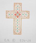 Hand-Painted Needlepoint Canvas - Creative Needle - 526-JH - Cross