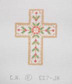 Hand-Painted Needlepoint Canvas - Creative Needle - 527-JH - Cross