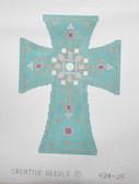 Hand-Painted Needlepoint Canvas - Creative Needle - 438-JH - Cross