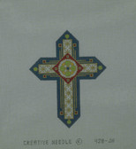 Hand-Painted Needlepoint Canvas - Creative Needle - 428-JH - Cross