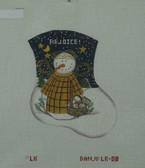 Hand-Painted Needlepoint Canvas - Danji Designs - LK-08 - Snow Angel