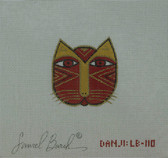 Hand-Painted Needlepoint Canvas - Danji Designs - LB-110 - Cat Face