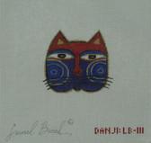 Hand-Painted Needlepoint Canvas - Danji Designs - LB-111 - Cat Face