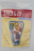 Stitch and Zip Needlepoint Kit – SZ904 – Sewing Scissor Case