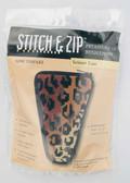 Stitch and Zip Needlepoint Kit – SZ901 – Leopard Scissor Case