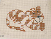 The Collection – Beginner Needlepoint Kit – Tiger