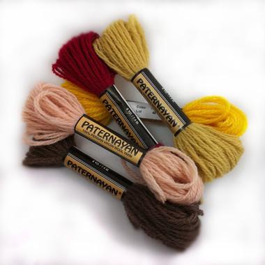 Paternayan Yarn - 8 Yard (1/4 oz) Twist (Colors 602 - 972)