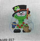 Snowman Small Ornament