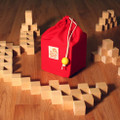 64 Cubes w/Red Bag