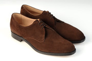 HARRISON - Plough Brown Suede - F