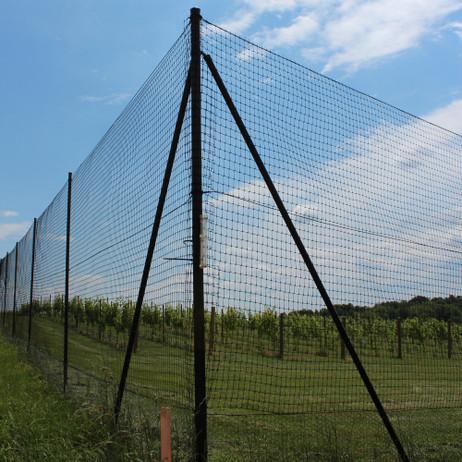 6' Heavy Duty Deer Fence Corner