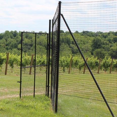 Heavy Duty Deer Fence End System 7.5'