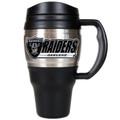 Oakland Raiders 20oz Travel Mug