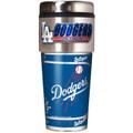 Los Angeles Dodgers 16oz Travel Tumbler with Metallic Wrap