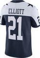 Dallas Cowboys Ezekiel Elliott #21 Nike Limited Throwback Jersey