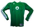 Boston Celtics Long Sleeve Shooting Shirt