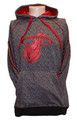 Miami Heat Static Hoodie Front
