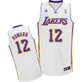 Dwight Howard Lakers Stitched White Jersey