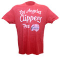 L.A. Clippers Scripted Men's Soft T-Shirt