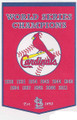 St. Louis Cardinals Dynasty Pennant