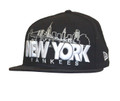 New York Yankees Cityscape Fitted Hat Front