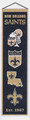 New Orleans Saints Heritage Pennants
