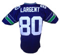 Steve Largent Mitchell & Ness Throwback Stitched Home Jersey Back