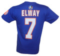 Broncos John Elway Hall of Fame Name & Number T-Shirt Back